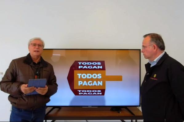 Bonilla prepara iniciativa para que CESPT cierre negocios que no paguen agua.